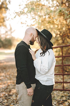 Him and Her at Overlook Park in Lititz, Pa