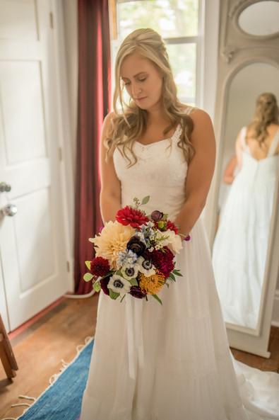 Nina Dave's Garden Fresh Wedding