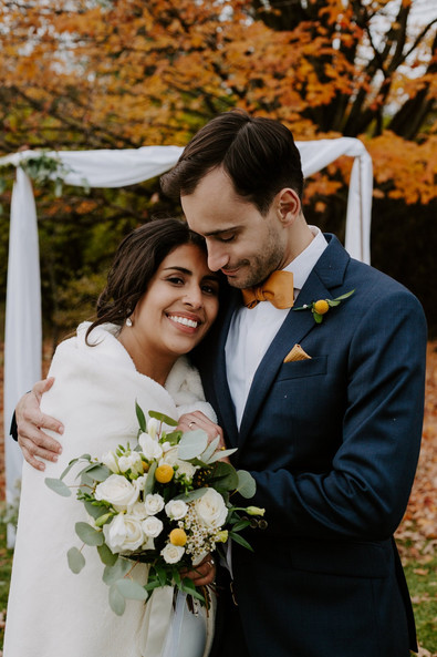 Steph and Manuel's Classic, Autumn Ceremony