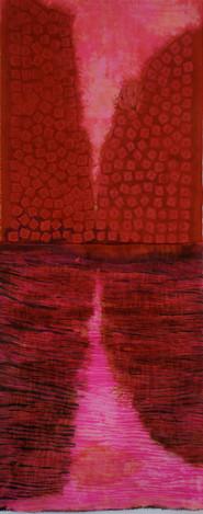 Red Crevasse