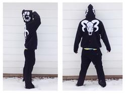 Ram Skull Hoodie