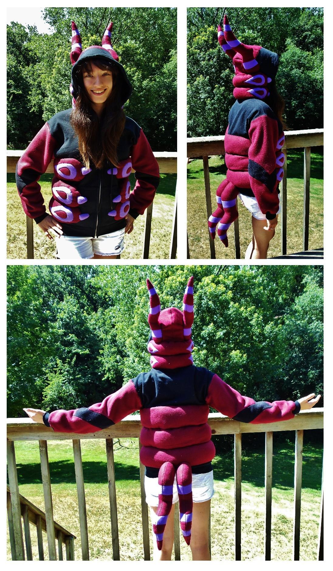 Purple Centipede