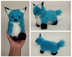 Blue Fox Plushie