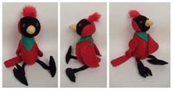Cardinal Plushie