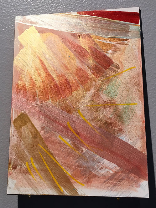 """Red Earth Song 5""""x7"""""""