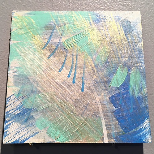 """Water and Light 5""""x5"""""""
