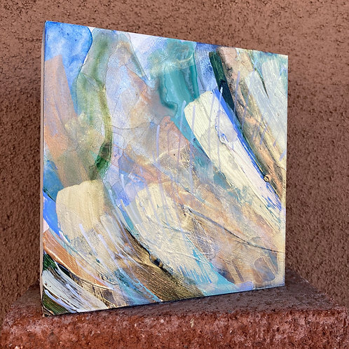 """The Waltz of Water and Wind, 6x6x2.5"""""""