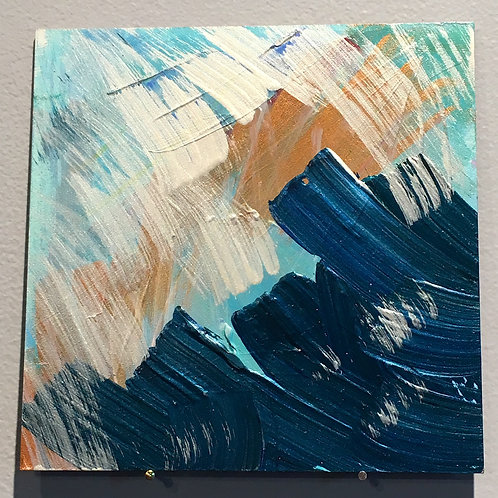 "Sound of Water 6""x6"""