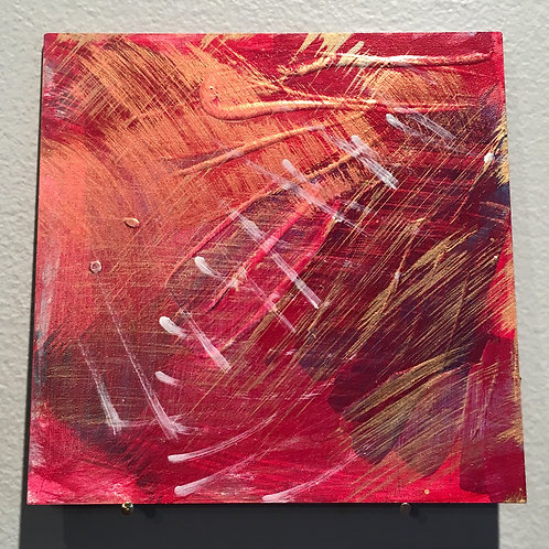 """Water and Wine 5""""x5"""""""