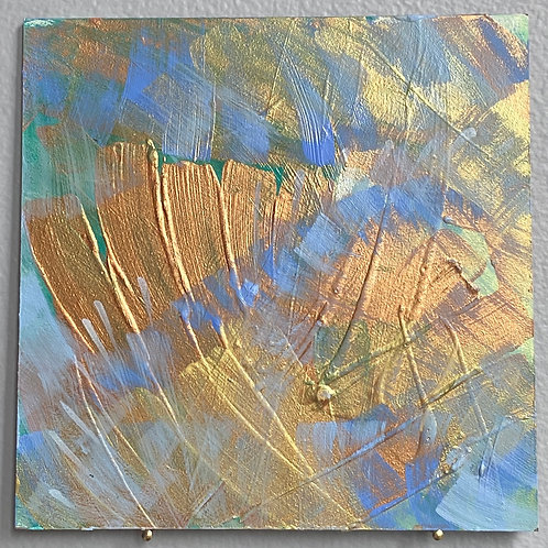 """Blue Blessing 8 5""""x5"""""""