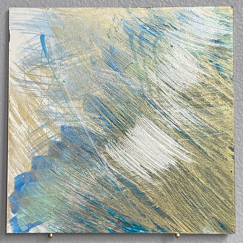 """Blue Blessing 18 5""""x5"""""""