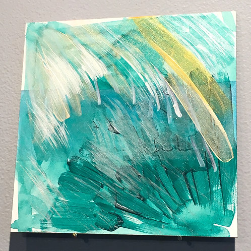 """Emerald Blessing 6""""x6"""""""