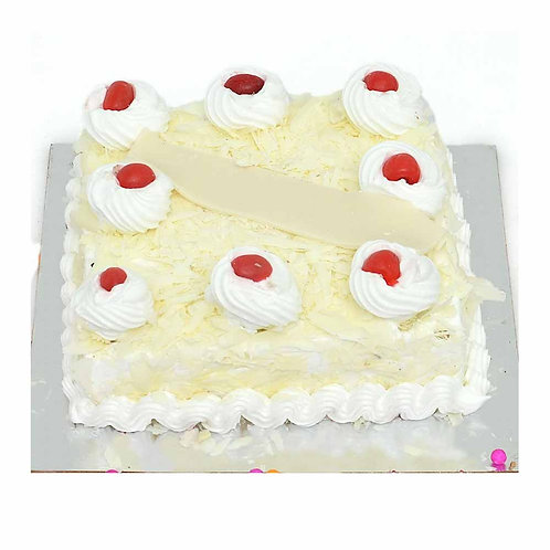 Cheery White Forest Cake