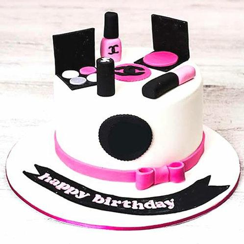 Delicious Make Up Kit Cake