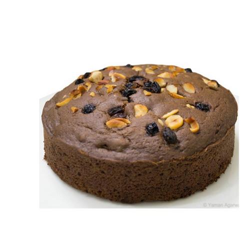 Choco Brawny Dry Fruit Cake
