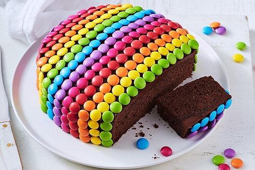 Delicious Cholcolate Gems Cake