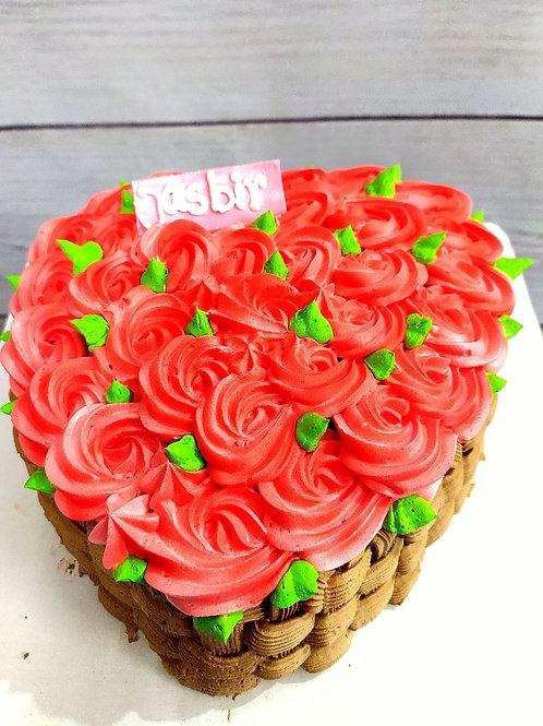 Rose Late Garden Mix Fruit Cake