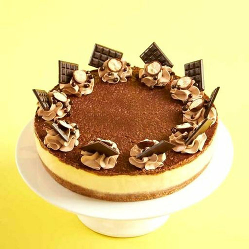Delicious Butterscotch Chocolate Cake