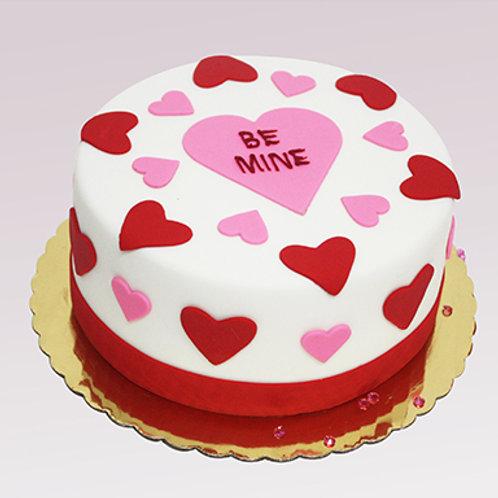 Love Vanilla Fondant Cake