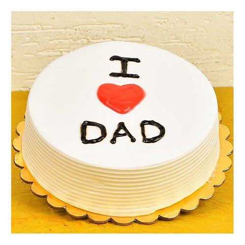 I Love You DAD Cake
