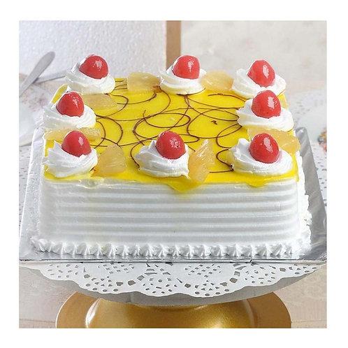 Rich Pineapple Cheery Cake