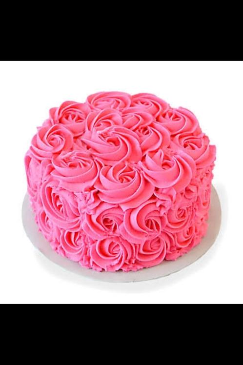 Love rosette Mix Fruit Cake