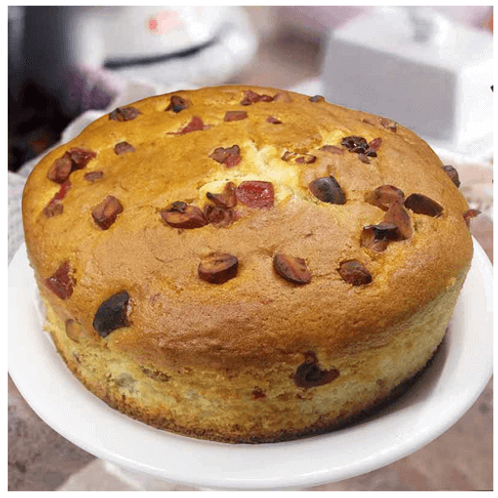 Delicious Dry Fruit Dry Nuts Cake