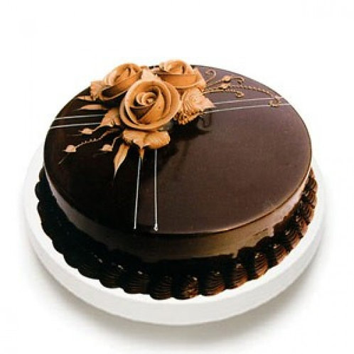 Rich Chocotruffle Cake
