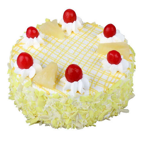 Rich Pineapple with Cheery Cake