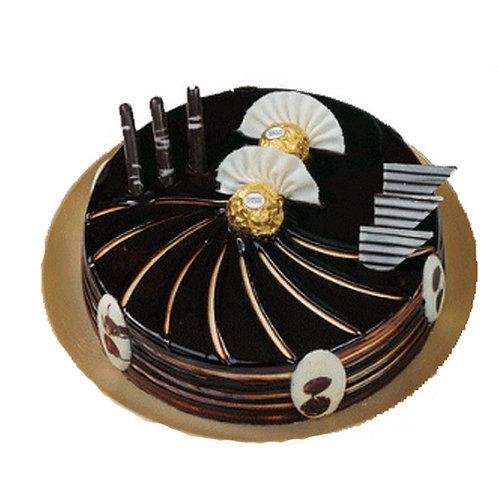 Swirl Chocolate truffle Cake Rocher Ferrero