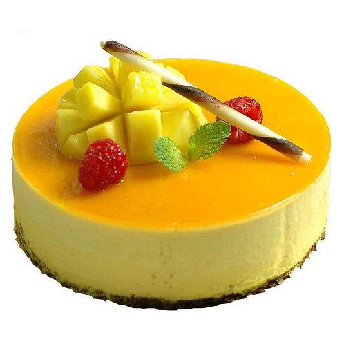 Delicious Cherry Mango Cake