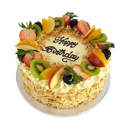 Mix Fruit Garden Cake
