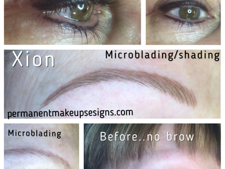Can tattooed brows look real if you have no brows?