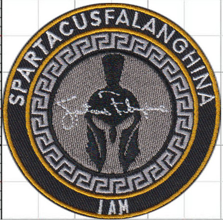 Spartacus 3x3_embroidered patch