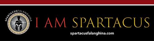 I Am Spartacus_magnet horizontal black