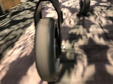 Fear Of Houses shopping cart wheel