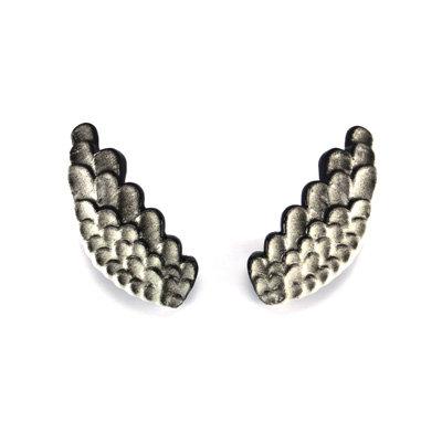White Wings Earrings