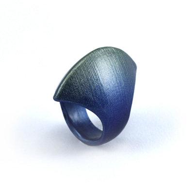 Light Blue Scuba Ring