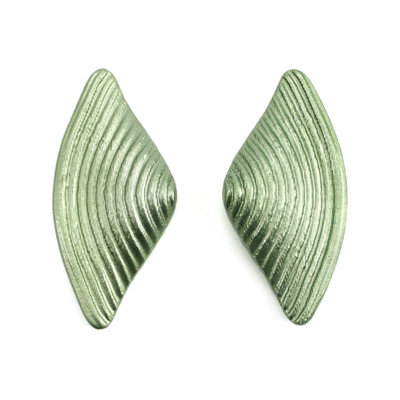 Light Green Bow Earrings