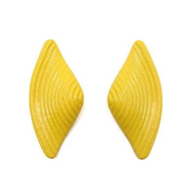 Yellow Bow Earrings