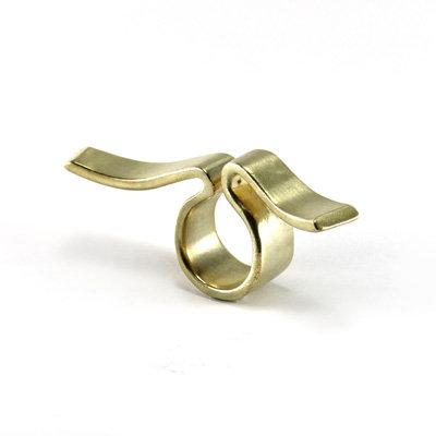Golden Stream Ring