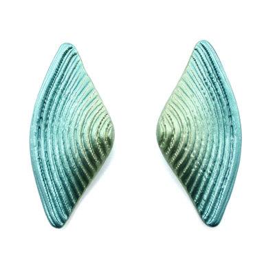 Greens Bow Earrings