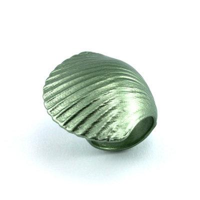 Light Green Shell Ring
