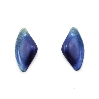 Green-Blue Tail S Earrings