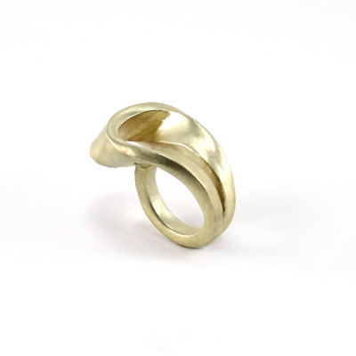 Golden Drop Ring