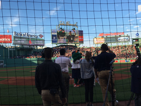 Tim Baldwin, Hardy Icon, Honored by Red Sox