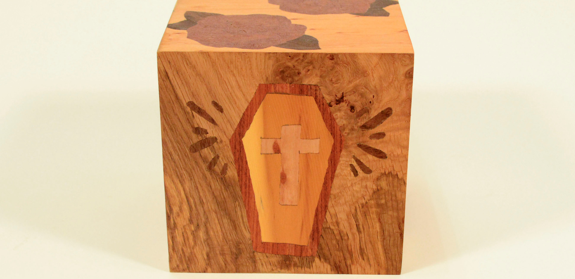 Marquetry Coffin