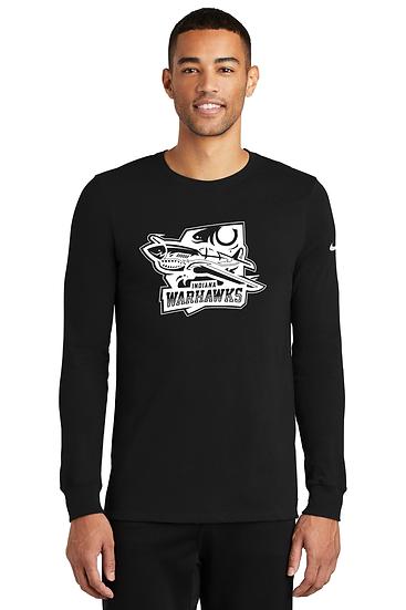 Indiana Warhawks Nike Dri-FIT Cotton/Poly Long Sleeve Tee