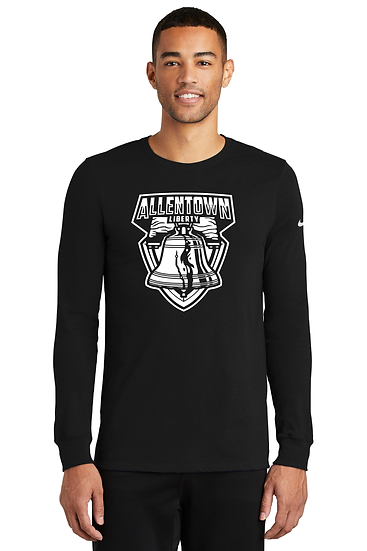 Allentown Liberty Nike Dri-FIT Cotton/Poly Long Sleeve Tee