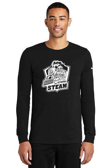 Altoona Steam Nike Dri-FIT Cotton/Poly Long Sleeve Tee